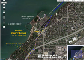 PIC: Mackenzie will soon be looking up at Lake Erie