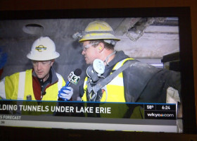VIDEO: Not your average daily commute, WKYC visits our construction project 200 feet underground