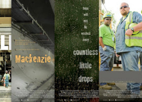 HOLLYWOOD: Here's our pitch, 4 films, 4 genres, 1 common theme: Clean water. And us.