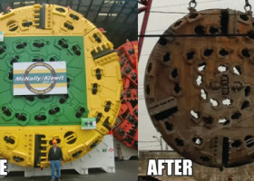PIC: A machine designed to dig tunnels is gonna get dirty. Here's how dirty.