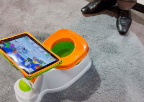 NEWS: #WaitToTweet 'til you're toilet-trained? iPotty voted worst toy of 2013