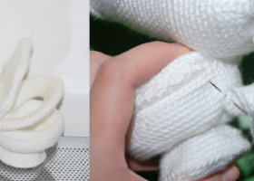 CRAFTS: Crochet a miniature toilet, because well c'mon look at it, it's adorable.