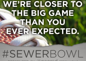 SUPER BOWL: How does infrastructure play into the Big Game? #SewerBowl will live-tweet the flow facts
