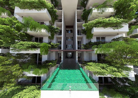 GREEN: 46 floors of lush forests and room service