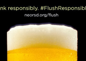 TIPS: Your bowl is not super. #FlushResponsibly