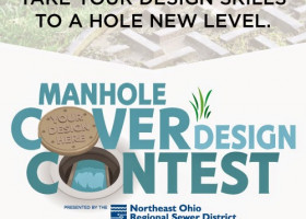 #SewerCoverCONTEST: A sewer manhole cover as a canvas? Your design could be worth $500 for local charity.