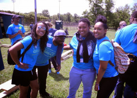 PICS: Interns' turn to make a difference in East Cleveland day of service