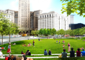 NEWS: Green commitment in Cleveland's Public Square renovation improves drainage, manages stormwater
