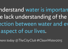 """NEWS: What is water worth? """"Business case"""" goes well beyond dollar signs / #CleanWater2015"""