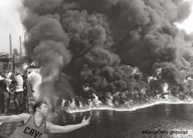 CAVS: Cuyahoga River fire? Top 3 #BlameDelly Cleveland environmental disasters