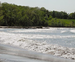 NOTICE: Water quality advisory posted at Edgewater as a result of early morning storm, overflow
