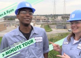 WATCH: Christen and Ryan's two-minute tour shows you what happens after the flush
