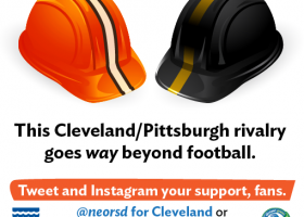 RIVALRY: Pittsburgh vs. Cleveland? Clean water is the business, but this could get dirty 9/19. #neorsdTOUR