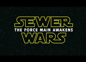 WATCH: When we sense a disturbance in the Force, things tend to get messy. #StarWars