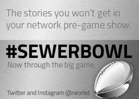#SewerBowl: Because we know the biggest games are won in the trenches.