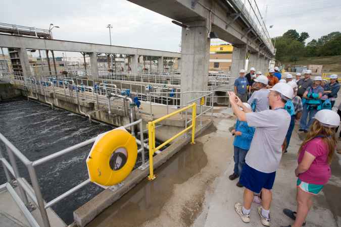 2019 Clean Water Fest open house: Employee Southerly tour (8:00)